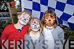 FACES: Ava Meikle,Lika Grace Galway and Holly Mac Entee who had their faces painted to raise funds for the Ballyfinnane Community Centre on Sunday in Ballyfinnane.