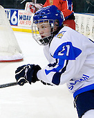 Toni Rajala (Finland - 21) - Russia defeated Finland 4-0 at the Urban Plains Center in Fargo, North Dakota, on Friday, April 17, 2009, in their semi-final match during the 2009 World Under 18 Championship.