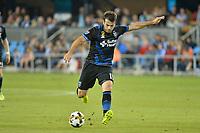 "San Jose, CA - Saturday September 16, 2017: Valeri Qazaishvili ""Vako"" during a Major League Soccer (MLS) match between the San Jose Earthquakes and the Houston Dynamo at Avaya Stadium."