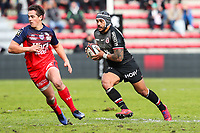 Pita Ahki of Toulouse during the Top 14 match between Toulouse and Grenoble at Stade Ernest Wallon on January 27, 2019 in Toulouse, France. (Photo by Manuel Blondeau/Icon Sport)