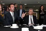 Ronny Deila and Peter Lawwell