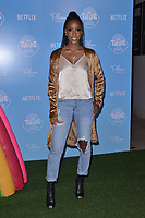 "10 August  2017 - Los Angeles, California - Kelly Rowland.   Premiere of Netflix's ""True and The Rainbow"" held at Pacific Theaters at The Grove in Los Angeles. Photo Credit: Birdie Thompson/AdMedia"