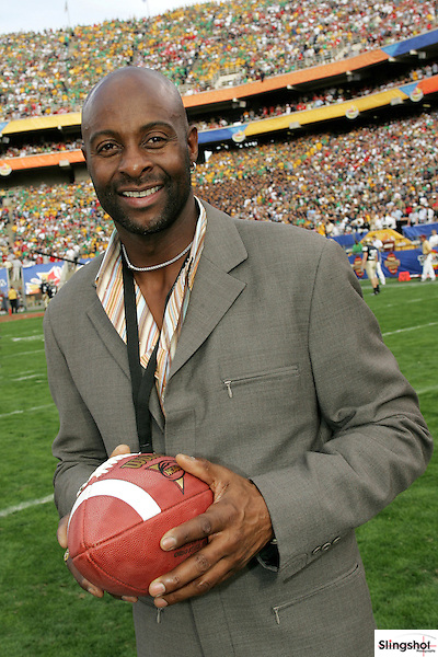San Francisco 49ers wide receiver great Jerry Rice.