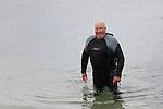 Aidan Sharkey at the Green Buoy 1KM Swim in Clogherhead....(Photo credit should read Jenny Matthews/NEWSFILE)...