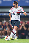Juan Bernat of Bayern Munich  in action during the Bayern Munich vs Guangzhou Evergrande as part of the Bayern Munich Asian Tour 2015  at the Tianhe Sport Centre on 23 July 2015 in Guangzhou, China. Photo by Aitor Alcalde / Power Sport Images