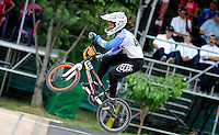 MEDELLIN- COLOMBIA -29-05-2016: Maria Gabriela Diaz (ARG) durante su participación en la categoría elite mujeres en el marco del Campeonato Mundial de BMX 2016 que se realiza entre el 25 y el 29 de mayo de 2016 en la ciudad de Medellín. / Maria Gabriela Diaz (ARG) during her performance in the women elite's categories as part of the 2016 BMX World Championships to be held between 25 and 29 May 2016 in the city of Medellin. Photo: VizzorImage / Cristian Alvarez / CONT