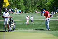 Beau Hossler (USA) chips on to 2 during round 1 of the Shell Houston Open, Golf Club of Houston, Houston, Texas, USA. 3/30/2017.<br /> Picture: Golffile | Ken Murray<br /> <br /> <br /> All photo usage must carry mandatory copyright credit (&copy; Golffile | Ken Murray)