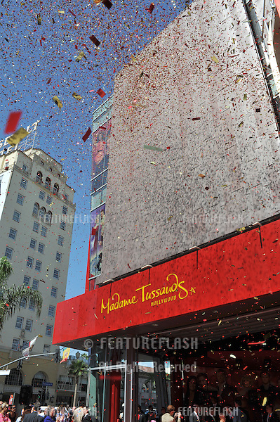 - grand opening of Madame Tussauds Hollywood. The new $55 million attraction is the first ever Madame Tussauds in the world to be built from the ground up. It is located on Hollywood Boulevard immediately next to the world-famous Grauman's Chinese Theatre..July 21, 2009  Los Angeles, CA.Picture: Paul Smith / Featureflash