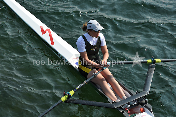 Wallingford Rowing Club Regatta 2011. Dorney..(IM2.1x) .Abingdon - A Bryson (552)