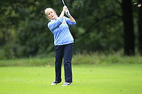 June McEvoy (Warrenpoint) during the final  of the Ulster Mixed Foursomes at Killymoon Golf Club, Belfast, Northern Ireland. 26/08/2017<br /> Picture: Fran Caffrey / Golffile<br /> <br /> All photo usage must carry mandatory copyright credit (&copy; Golffile | Fran Caffrey)
