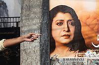 Streetscene in central Kolkata, India. November, 2013