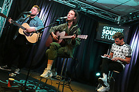BALA CYNWYD, PA - SEPTEMBER 10 : Of Monsters And Men visit Radio 104.5 studio in Bala Cynwyd, Pa September 10, 2019 Credit: ***House Photographer*** Star shooter/ MediaPunch