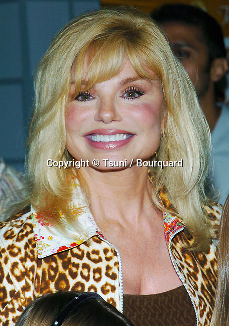 Loni Anderson at the party for the DVD release ( 1st years of Laverne & Shirley) at the Rosevelt Hotel. The party was following the star ceremony on the Hollywood Walk of Fame in Los Angeles. August 12, 2004.