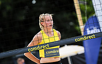 19th July 2020; Dusselldorf, Germany; Comdirect beach volleyball tour;  Leonie Koertzinger