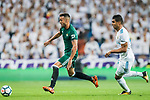 Victor Camarasa Ferrando of Real Betis is followed by Carlos Henrique Casemiro of Real Madrid during the La Liga 2017-18 match between Real Madrid and Real Betis at Estadio Santiago Bernabeu on 20 September 2017 in Madrid, Spain. Photo by Diego Gonzalez / Power Sport Images