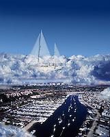 Marina; Del Rey; CA; Sailing;