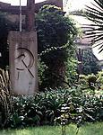 Grave of Leon Trotsky, Mexico City, Mexico