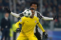 Junior Fernandes Dinamo, Juan Cuadrado Juventus <br /> Torino 07-12-2016 Juventus Stadium Football Calcio Champions League 2016/2017 Juventus - Dinamo Zagreb . Foto Filippo Alfero Insidefoto