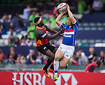 Papua New Guinea vs South Korea during their HSBC Sevens Wold Series Qualifier match as part of the Cathay Pacific / HSBC Hong Kong Sevens at the Hong Kong Stadium on 27 March 2015 in Hong Kong, China. Photo by Victor Fraile / Power Sport Images