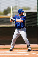 Ian Gac  - Texas Rangers - 2009 spring training.Photo by:  Bill Mitchell/Four Seam Images