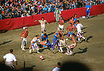 Festa medieval em Florença. Itália. 1998. Foto de Juca Martins.