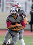 Torrance, CA 09/19/15 - Jeremiah Aiono (Torrance #28) in action during the Peninsula Panthers - Torrance Tartars Varsity football game at Torrance High School