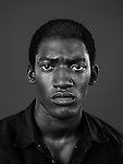 LOS ANGELES, CA - March 3: Malachi Kirby plays the role of Kunta Kinte in History Channel's new adaptation of Alex Haley's 1977 miniseries of the same title, chronicling the history of an African slave sold to America and his descendants. Kunta Kinte was a character originally played by LeVar Burton who now fills the role of executive producer. (Photo by Brinson+Banks)