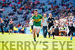 Cian Gammell Kerry in action against  Derry in the All-Ireland Minor Footballl Final in Croke Park on Sunday.
