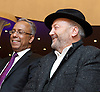 Lutfur Rahman <br /> Mayor of Tower Hamlets<br /> support rally in Mile End Road, east London, Great Britain <br /> 12th November 2014 <br /> <br /> Mayor Lutfur Rahman <br /> <br /> <br /> George Galloway MP <br /> <br /> <br /> <br /> Photograph by Elliott Franks <br /> Image licensed to Elliott Franks Photography Services