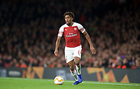 Alex Iwobi of Arsenal during the UEFA Europa League group match between Arsenal and Sporting Clube de Portugal at the Emirates Stadium, London, England on 8 November 2018. Photo by Andrew Aleks / PRiME Media Images.<br /> .<br /> (Photograph May Only Be Used For Newspaper And/Or Magazine Editorial Purposes. www.football-dataco.com)
