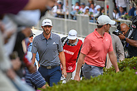 Dustin Johnson (USA) makes his way to 18 during round 4 of the World Golf Championships, Mexico, Club De Golf Chapultepec, Mexico City, Mexico. 2/24/2019.<br /> Picture: Golffile | Ken Murray<br /> <br /> <br /> All photo usage must carry mandatory copyright credit (© Golffile | Ken Murray)