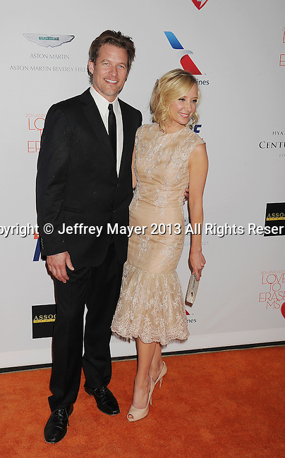CENTURY CITY, CA- MAY 03: Actors James Tupper and Anne Heche arrive at the 20th Annual Race To Erase MS Gala 'Love To Erase MS' at the Hyatt Regency Century Plaza on May 3, 2013 in Century City, California.