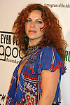 LOS ANGELES, CA. - February 05: Singer Nikka Costa arrives at the Black Eyed Peas Peapod Foundation benefit concert presented by Adobe Youth Voices inside the Conga Room at the Nokia Theatre L.A. Live on February 5, 2009 in Los Angeles, California.