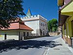 Budynek Muzeum Ziemi Bieckiej. Building of the Museum of the Biecka Land
