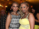 Shannon Branigan celebrating her 21st birthday in the Thatch with sister kayleigh. Photo:Colin Bell/pressphotos.ie