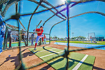 5 March 2013: Washington Nationals third baseman Ryan Zimmerman takes batting practice prior a Spring Training game against the Houston Astros at Space Coast Stadium in Viera, Florida. The Nationals defeated the Astros 7-1 in Grapefruit League play. Mandatory Credit: Ed Wolfstein Photo *** RAW (NEF) Image File Available ***