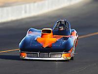 Jul 28, 2017; Sonoma, CA, USA; NHRA super gas driver Val Torres Sr during qualifying for the Sonoma Nationals at Sonoma Raceway. Mandatory Credit: Mark J. Rebilas-USA TODAY Sports