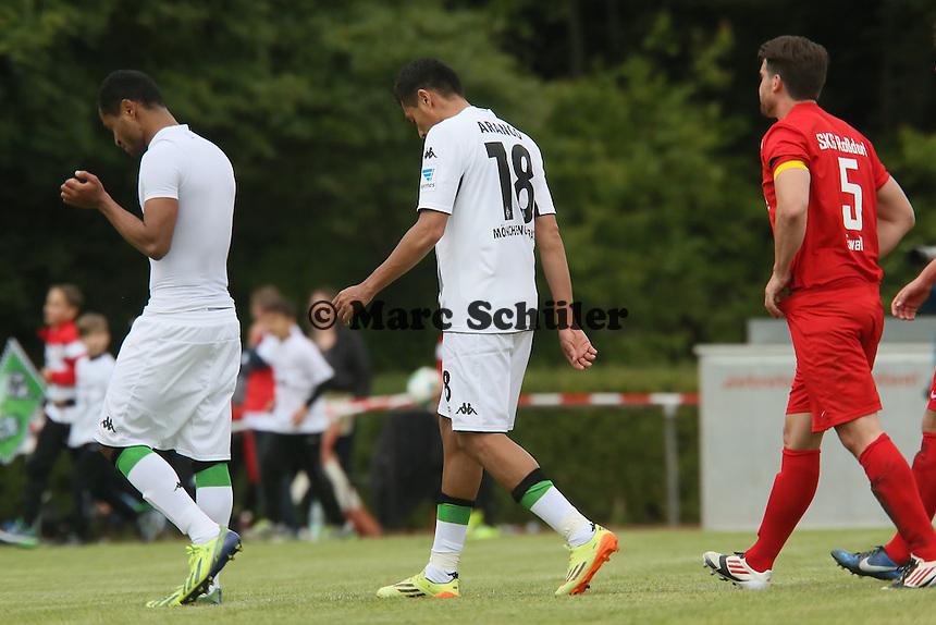 Juan Arango nach seinem letzten Spiel