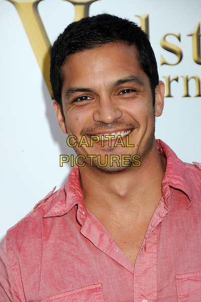 NICHOLAS GONZALEZ. 4th Annual Sports Dream Celebrity Poker and Pool Party Celebrating the 2010 ESPY Awards held at the Playboy Mansion, Beverly Hills, California, USA..July 12th, 2010.headshot portrait pink stubble facial hair smiling .CAP/ADM/BP.©Byron Purvis/AdMedia/Capital Pictures.