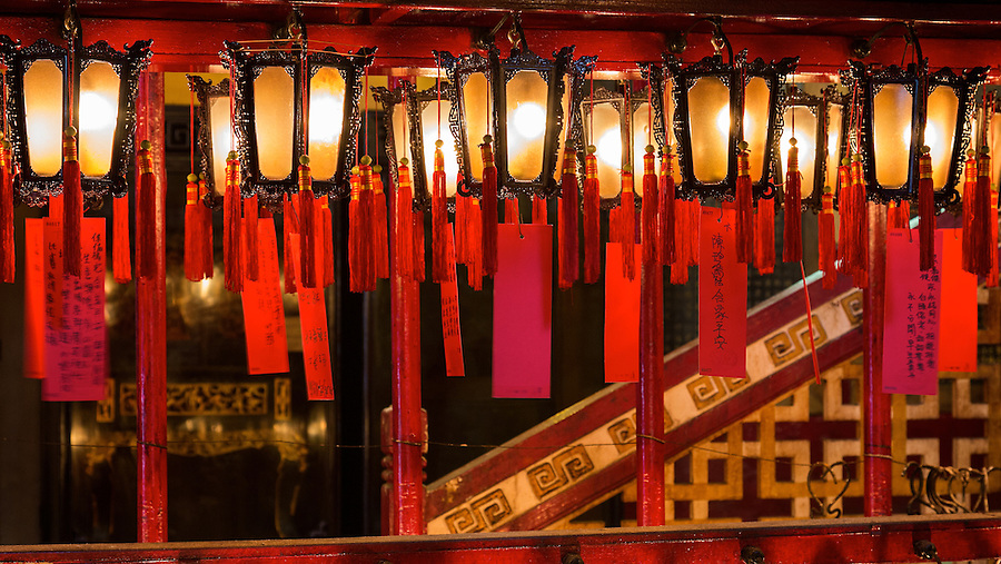 Electric Chinese Lamps Are Used In Place Of Small Incense Coils To Provide A More Eco-Friendly Worship Environment.