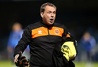 Blackpool's Goal Keeper coach David Timmins <br /> <br /> Photographer Rachel Holborn/CameraSport<br /> <br /> The EFL Sky Bet League One - Gillingham v Blackpool - Tuesday 6th November 2018 - Priestfield Stadium - Gillingham<br /> <br /> World Copyright &copy; 2018 CameraSport. All rights reserved. 43 Linden Ave. Countesthorpe. Leicester. England. LE8 5PG - Tel: +44 (0) 116 277 4147 - admin@camerasport.com - www.camerasport.com