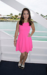 Kristen Alderson donated her time at 15th Southwest Florida Soapfest 2014 Charity Weekend - at Cruisin' and Schmoozin' on May 25, 2104 aboard the Marco Island Princess (boat), Marco Island, Florida.  (Photo by Sue Coflin/Max Photos)