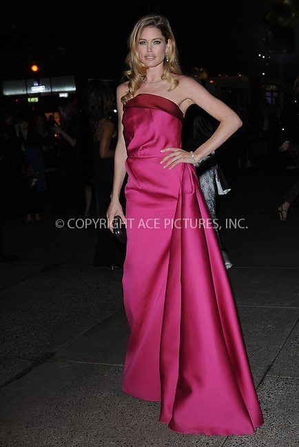 WWW.ACEPIXS.COM . . . . . .April 18, 2013...New York City....Doutzen Kroes at the Tiffany & Co. 2013 Blue Book Collection Ball at Rockefeller Center on April 18, 2013 in New York City ....Please byline: KRISTIN CALLAHAN - ACEPIXS.COM.. . . . . . ..Ace Pictures, Inc: ..tel: (212) 243 8787 or (646) 769 0430..e-mail: info@acepixs.com..web: http://www.acepixs.com .