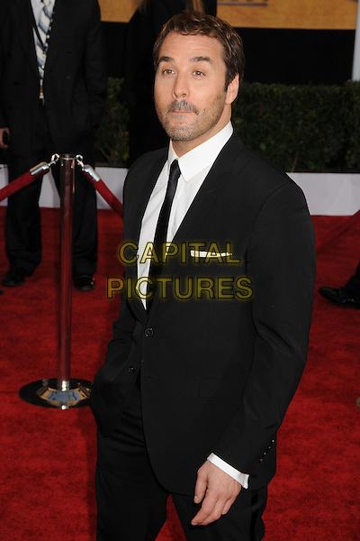 JEREMY PIVEN .15th Annual Screen Actors Guild Awards held at the Shrine Auditorium,  Los Angeles, California, USA, .25 January 2009..SAG red carpet arrivals half length beard facial hair stubble  black suit tie .CAP/ADM/BP.©Byron Purvis/Admedia/Capital PIctures
