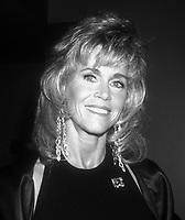 Jane Fonda, 1990, Photo By Michael Ferguson/PHOTOlink