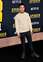 """LOS ANGELES, CA: 27, 2020: Jonathan Chavez at the world premiere of """"Spenser Confidential"""" at the Regency Village Theatre.<br /> Picture: Paul Smith/Featureflash"""