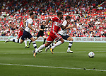 Cyrus Christie of Middlesbrough in action during the Sky Bet Championship match at the Riverside Stadium, Middlesbrough. Picture date: August 26th 2017. Picture credit should read: Jamie Tyerman/Sportimage