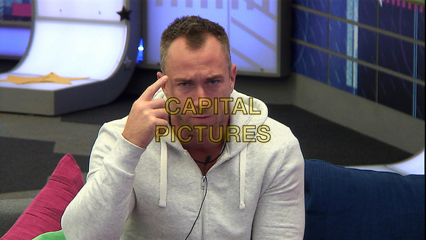 James Jordan<br /> in Celebrity Big Brother - Summer 2014 (Day 7)<br /> *Editorial Use Only*<br /> CAP/NFS<br /> Image supplied by Capital Pictures