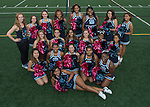 9-17-16, Skyline High School pompon squad