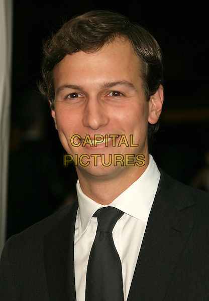 "JARED KUSHNER (publisher of The New York Observer).New York Premiere of ""Awake"" at the Chelsea West Cinemas, New York, NY, USA..November 14th, 2007.headshot portrait  .CAP/LNC/TOM.©TOM/LNC/Capital Pictures"
